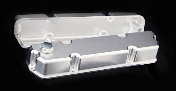 Billet 5lt 304 Rocker Covers with Flat Top to suit VN Heads