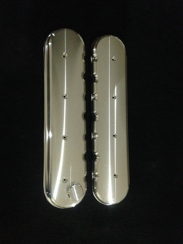 Billet LS Budget Series Rocker Covers