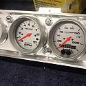 BILLET CUSTOM VH DASH INSERT TO SUIT AUTO METER GAUGES