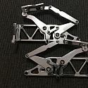 EH  HOLDEN BILLET BONNET HINGES